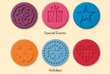 Cookie Stamps / Recipes and ideas to use with Stampin' Up!'s cookie stamps.