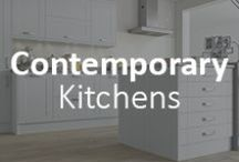 Contemporary Living / Shaker kitchen doors are a timeless style of kitchen that seems more popular than ever. Strong yet simple designs are featured in the shaker kitchens section. Available in a wide selection of colours, stains and paints, these ranges can be mixed and matched to create your own unique kitchen. Shaker kitchens are characterised by uncluttered and streamlined designs that epitomize quality, style and sophistication.