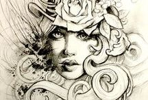 Jewels & Tattoo Art / piercings i may try once day and on the look out for possibly another tatt. butttt quite simply i love the artwork!