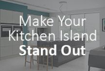 The top 5 ways to make your kitchen island really stand out / A well designed island will become the focal of your kitchen, and with a wide range of different storage and unique design options you can design one to suit your lifestyle.