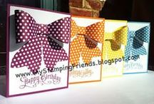 Gift Bow Die / Projects, ideas, tips and videos using Stampin' Up!'s Gift Bow Die for the Big Shot.