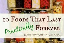 Storing food / Food storage ideas: canning, dry freeze, etc.