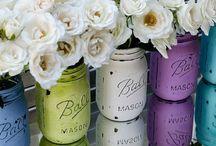 Glass jars ideas