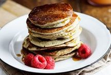 waffles || pancakes / // mostly healthy