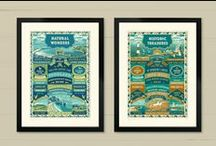 Dorset Art Prints & Cards / A range of art prints and greeting cards from The Typecast Gallery.