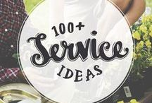 Service Ideas / Service ideas for families, individuals, kids, and youth