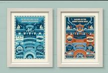 Cornwall Art Prints & Cards / A range of art prints and greeting cards from The Typecast Gallery.
