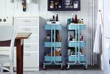 Kitchen deco & organization