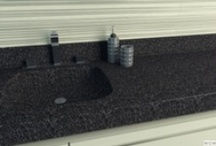 Corian Darks / Acrylic Solid Surface Worktops Dark