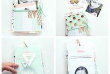 Mini Albums and Journals / Scrapbooking mini albums and journals. Junk Journals, Traveler's Journals, DIY