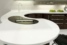 Staron Solid Surface White / Staron acrylic solid surface products give you the tried-and-trusted quality and technological innovation that you would expect from a global name such as Samsung