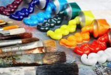 Painting materials - Materiales de pintura
