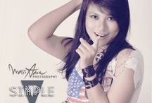 Simple V / Modelling Photography : SIMPLE V : Talent : Via