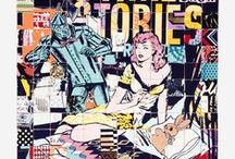 Faile Street Art / Contemporary Street and Mural Art of the Brookly based art collective