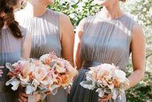 Bridesmaids frocks / Wally's wedding