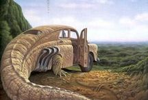 Jacek Yerka / Jacek Yerka is a Polish artist born in 1952 in Toruń, Poland.