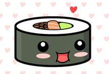 Japanese Food ( Sushi, Maki, Onigiri....) / Itadakimasu !!!