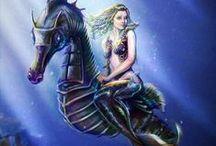 Mermaid / Creature / Ship