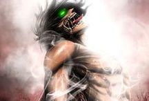 """Manga Shinkegi no kyojin """"Attack on Titan"""""""