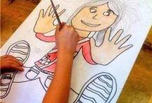 Tegne, male og fargelegge / Forming i skolen