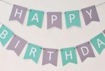 * Idée déco anniversaire *