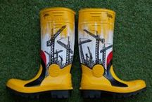 Rubber boots ideas