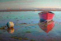 Boats & Ships In Art
