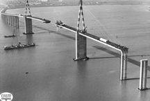 40 ans Pont de Saint-Nazaire / Il y a un peu plus de 40 ans débutaient les travaux de ce géant des mers. Le 27 septembre 2015, rdv tous sur le pont pour fêter l'anniversaire d'un des ponts les plus longs d'Europe. #TSLP