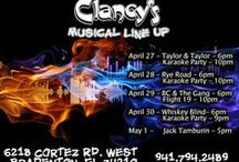 Clancy's Events / If Clancy's is a rockin', please come a knockin'.