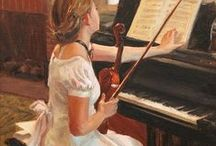 Musical Instruments In Art