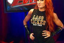 Becky Lynch / My favourite WWE woman wrestler.