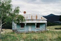 Oude Nieuw Zeelandse huizen