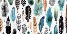 Feder // Feathers // Accessoires // DIY / Federn - eine Sammlung von Schmuck, Accessoires, DIY, Zeichnen und Schönem