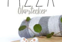 Pizzaliebe / Eine Pinnwand voller Pizza // Rezepte // DIY // Accessoires // Schmuck // Keine Ananas