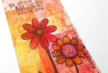 Creations Using My Stamps / My stamp designs in action