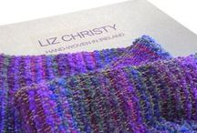 LIZ CHRISTY. HAND-WOVEN IN IRELAND / Authentic Liz Christy Scarves & Wraps, Hand-Woven in Ireland. Wearable Art ~ Inspired by Art
