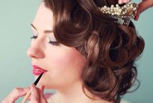 Bridal Makeup / For all those brides to be, a little inspiration for your own wedding makeup, natural and glowing, dramatic and striking and some vintage inspired make up too, there's something here for everyone. Enjoy!