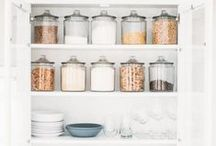pantry @ modfarm / a place not just for storage, but a chance to create something functional & beautiful | take advantage of the many options for containers and storage | purge often | label...label...label