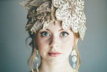 Fairytale Bride / Luscious tones of golds and pinks for the fairytale bride.