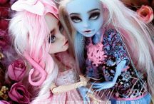 Custom Dolls / Collection of custom doll repaints, faceups & OOAKs Mainly Monster High :) / by Marlee Mavia