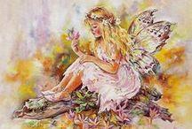 LEGENDS, FANTASY & FAERIE ART / Illustrations de style fantastique, féerique et sur le thèmes des légendes