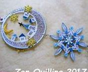 08.Quilling - my Christmas decorations