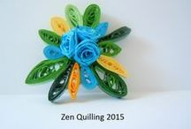 01.Quilling - my brooches