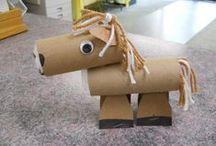 Kids craft - animals,birds