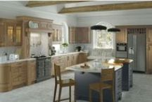 Traditional Kitchen ranges / Traditional Kitchens incorporating different door styles from shaker to victorian.   Painted and stained woods available