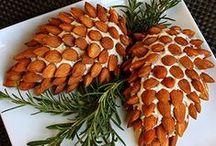 Food decorations Christmas