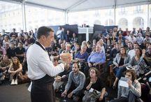 Peixe em Lisboa 2015 / De 9 a 19 de abril de 2015, no Pátio da Galé, a 8ª edição do PEIXE EM LISBOA apresentou 10 restaurantes com degustações, conceituados chefes internacionais e portugueses, um mercado gourmet com centenas de produtos para prova e aquisição, aulas de cozinha, debates e workshops.  O evento é uma organização da Associação de Turismo de Lisboa, com o apoio da Câmara Municipal de Lisboa e produção da EV-Essência do Vinho.