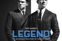 "Legend (2015) / The movie ""Legend"" (2015) starring Tom Hardy and Taron Egerton, as the infamous Kray twins and Edward ""Mad Teddy"" Smith."