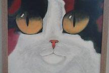 my works / seramik....resim....mozaik