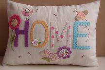 Almofadas e cia / Capas para almofadas e travesseiros